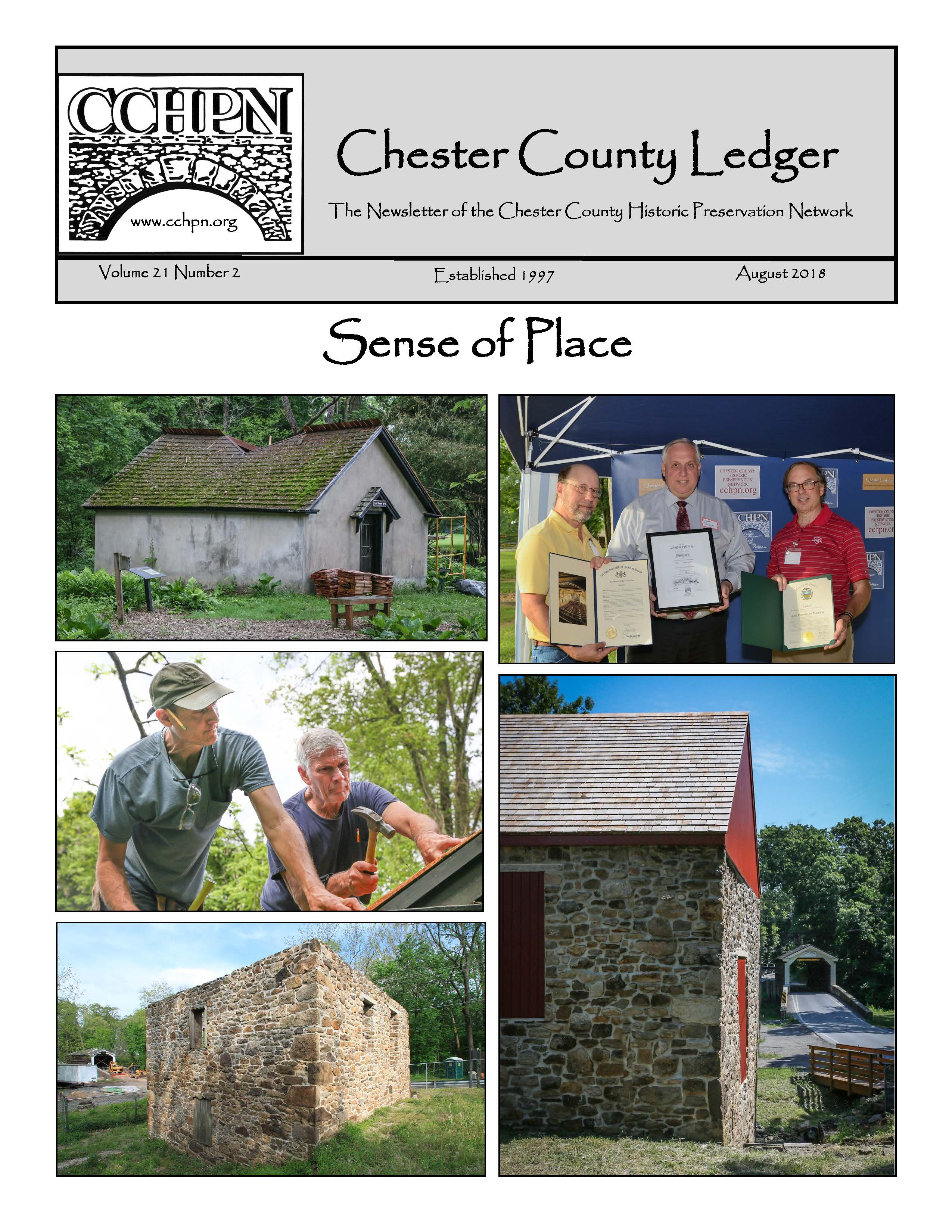 Chester County Ledger August 2018: Volume 21, Number 2